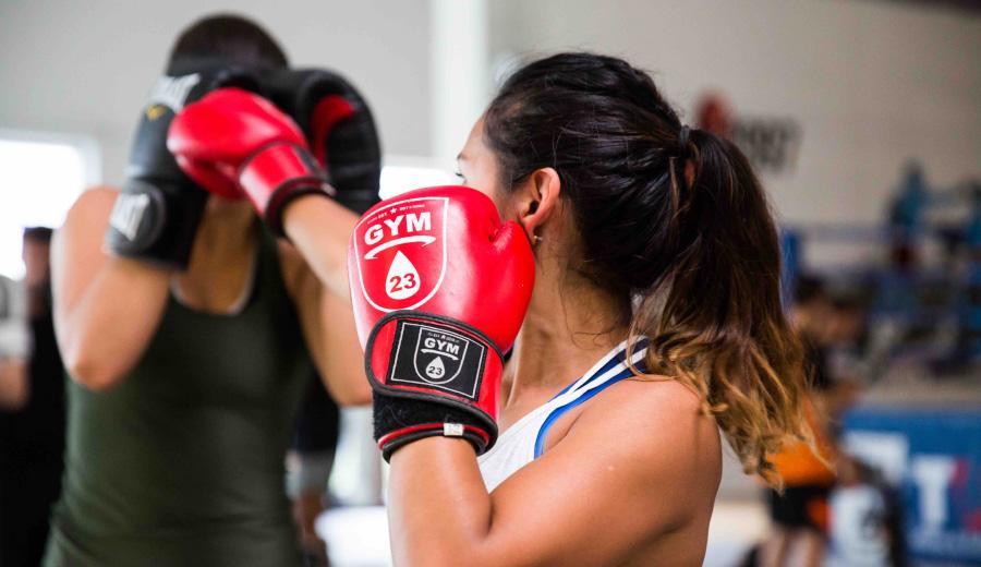 Бокс для девушек или фитбокс