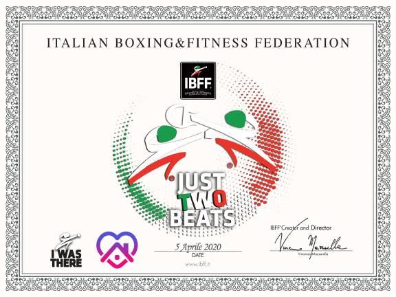 сертификат IBFF