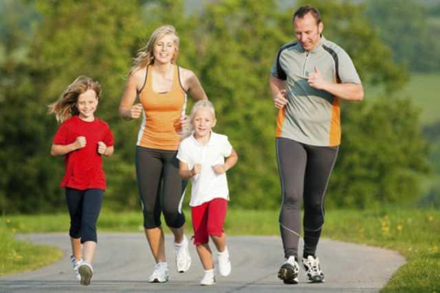 фитнес уикенд всей семьёй